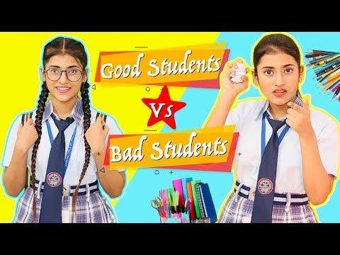 Good Students Vs. Bad Students | SAMREEN ALI