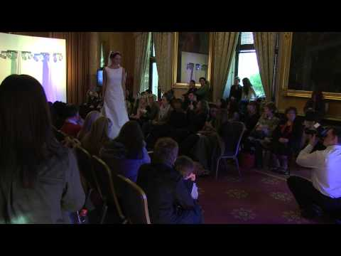 Bridal Catwalk at the Silver Lined Wedding Show, 116 Pall Mall London