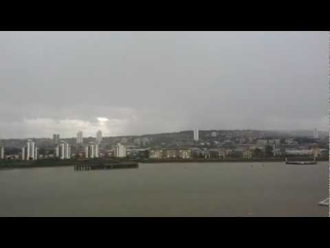 Lighting Storm over East London