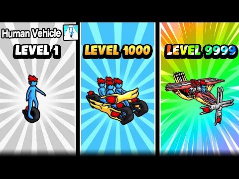 Human Vehicle : เกมเจ้าก้าง ประกอบร่าง เป็นยานพาหนะ !!!