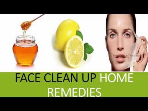 How to do Face Clean up at Home ( Home remedies for clean and clear face )