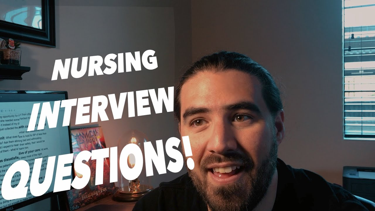 24 New Grad RN Nursing Interview Questions AND ANSWERS ...