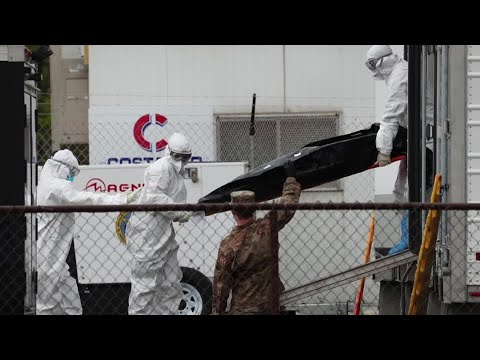 U.S. coronavirus death forecast climbs as states reopen