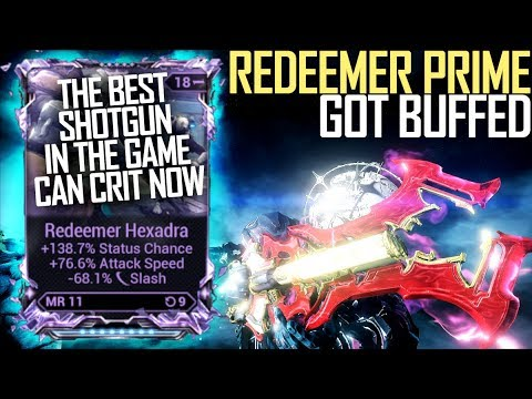 [Warframe] THEY BUFFED REDEEMER PRIME [HYBRID BUILDS NOW POSSIBLE] thumbnail