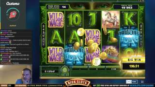 BIG WIN on Thunderstruck 2 Slot - £1.50 Bet