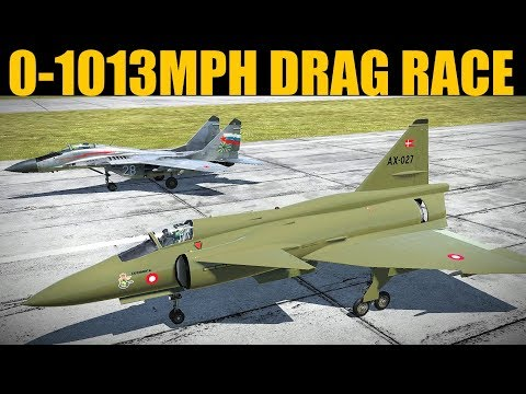 DRAG RACE: Viggen vs Mig-29 GRAND FINAL | DCS WORLD