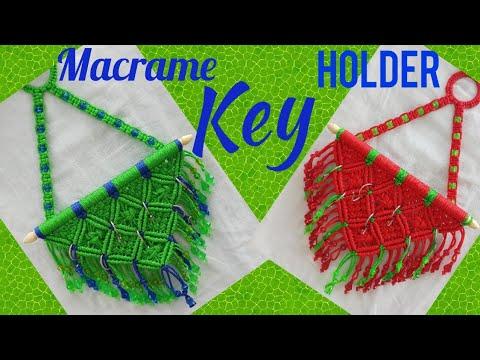 Macrame Key Holder