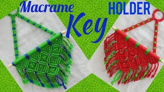 Macrame Key Holder