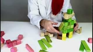Magnetic Wooden Toys From Tegu - Building An Elf