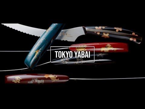 TOKYO YABAI episode2 「  Knife making use of Japanese sword technology」