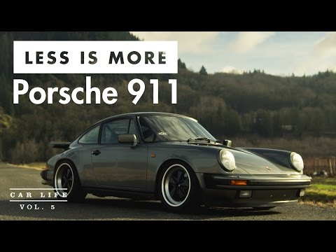 Car Life: Less is More - Porsche 911 Carrera 3.2 – SingularEntity.com