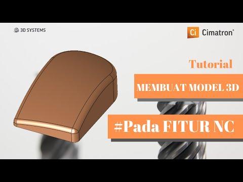 Cimatron Tutorial 3: Membuat Model 3D Mouse Pada File NC