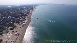 Аэровидеосъемка черноморского побережья (Джемете/Дельфины)