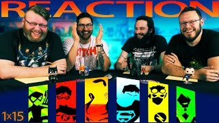 Young Justice 1x15 REACTION!!