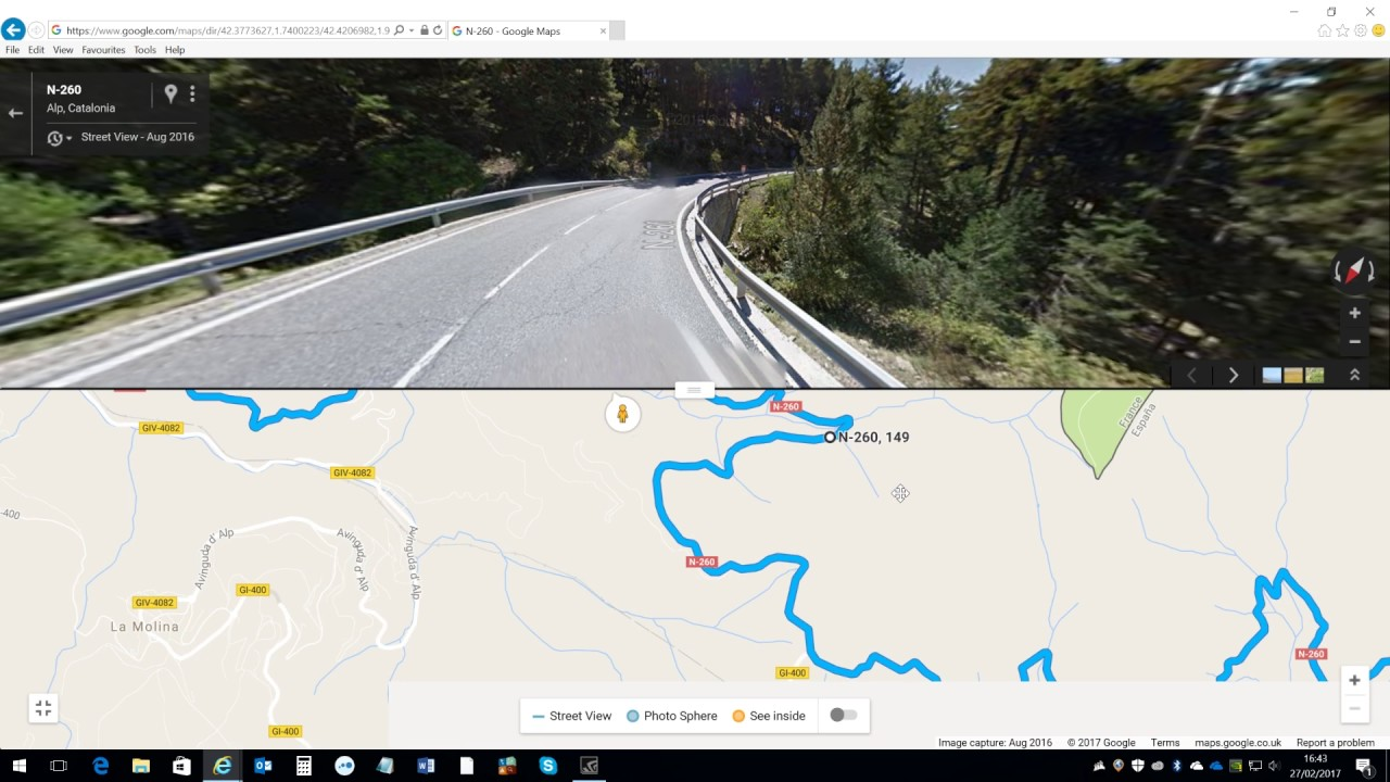 Google Maps Route Planning Youtube
