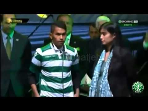 ADOPT CHILD CRISTIANO RONALDO, tsunami survivor Martunis JOIN TO SPORTING LISBON JULY 3, 2015