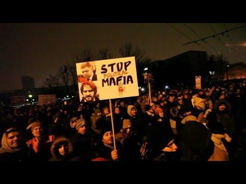 People gather in Bratislava to protest journalist's murder