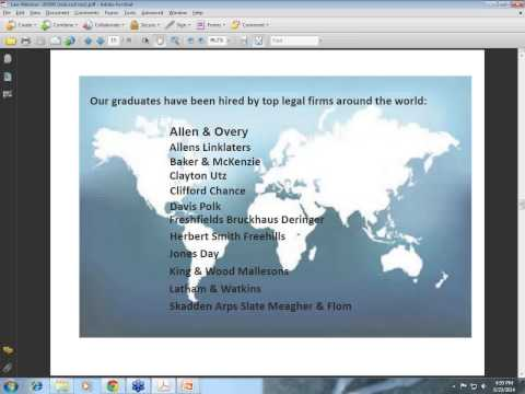 UNSW Australia Juris Doctor Informational Webinar