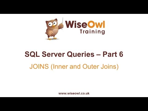 SQL Server Queries Part 6 - JOINS (Inner and Outer Joins)