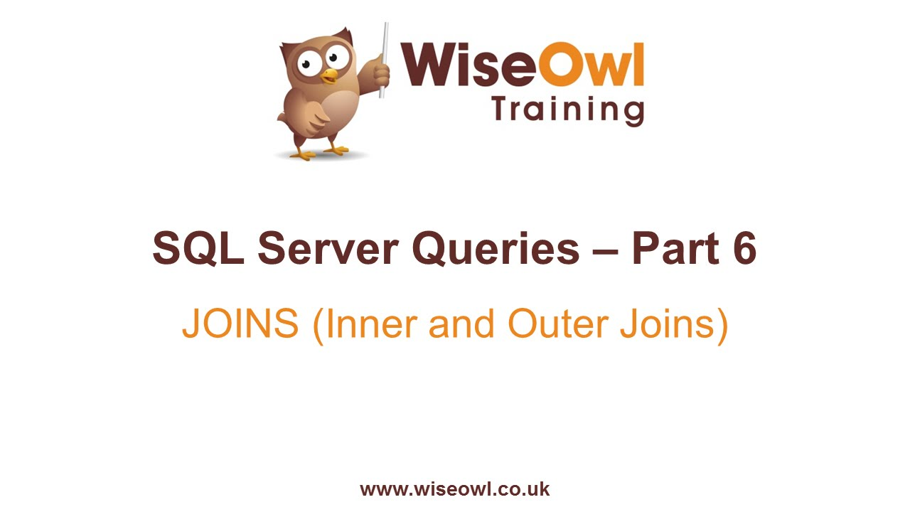 Sql server queries part 6 joins inner and outer joins youtube gamestrikefo Images