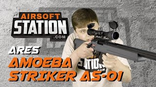 ARES Amoeba Striker AS-01 - Not Just Another Spring Sniper - Airsoft Station Review
