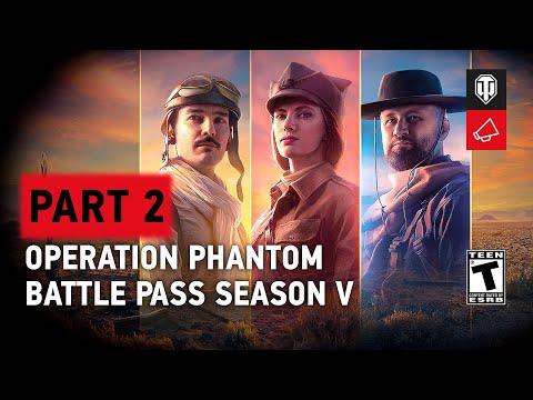 Download Battle Pass Season V in World of Tanks - Operation Phantom: Part 2
