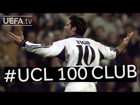 LUÍS FIGO: #UCL 100 CLUB