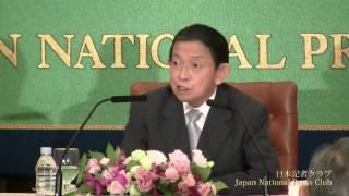 西岡武夫 参議院議長 2010.8.30