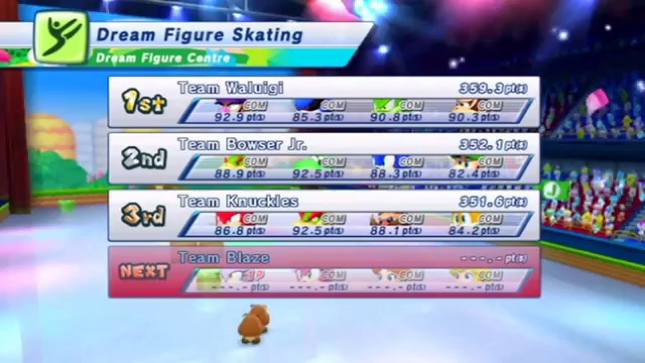 Mario and Sonic at the Winter Olympic Games: Dream Figure Skating [Mario World] (Merry Christmas)