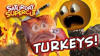 Annoying Orange - Thanksgiving Turkey Supercut