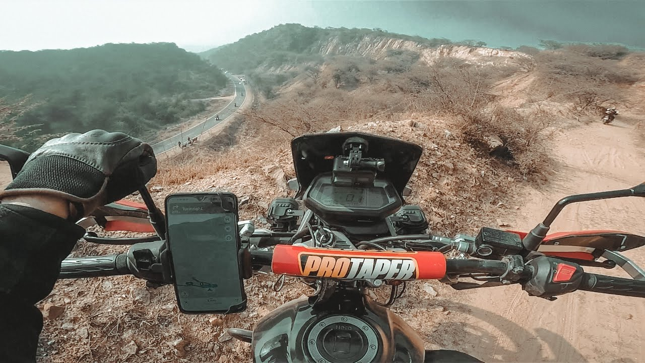 DEADLY OFF-ROAD on Hero Xpulse 200 ⚠️⚠️