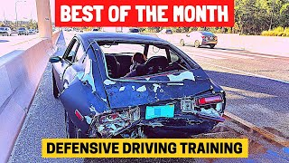 BEST OF THE MONTH (JANUARY) | Bad Drivers & Driving Fails in USA & Canada (w/ Commentary)