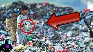 5 Cosas más terribles encontradas en basureros