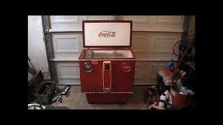 1964 Coca Cola Cooler Scrap Yard Find