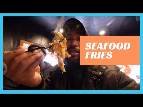 Possibly the BEST Seafood Fries located in N. Philly? SoulFedPhilly!  [JL Jupiter tv]