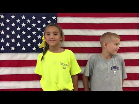 Daphne Elementary School Veteran's Day Appreciation Video 2017