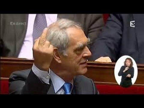 Les gamineries de l'Assemblée Nationale (clashs, blagues, fou rire..)