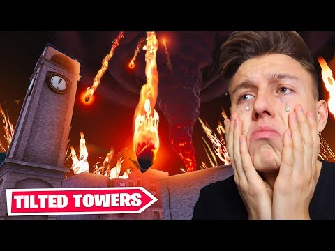 VULKAN Zerstört TILTED TOWERS Event In Fortnite! Mit StandartSkill Und MontanaBlack!