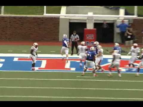 Garrett Gilbert Smu Qb 11 Runs Scrambles Youtube