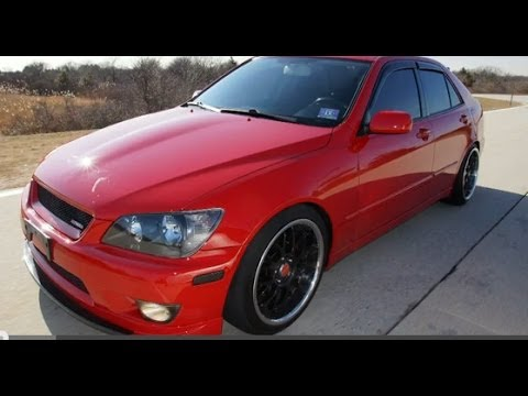 Masters Auto Sales >> 2002 Lexus IS300 Altezza 5-Speed Test Drive - YouTube