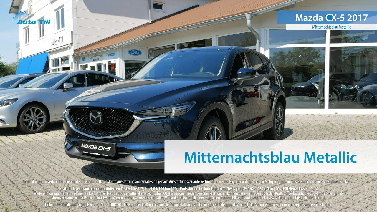 mazda cx 5 2017 mitternachtsblau metallic 4k uhd youtube. Black Bedroom Furniture Sets. Home Design Ideas