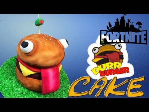 Fortnite Durr Burger Cake - How To