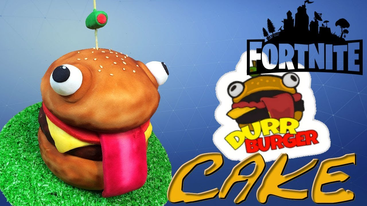 Fortnite Durr Burger Cake How To Youtube