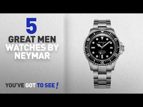 d3950d909 Top 10 Neymar Men Watches [ Winter 2018 ]: NEYMAR 44mm Automatic watch  1000m Dive watch stainless - YouTube