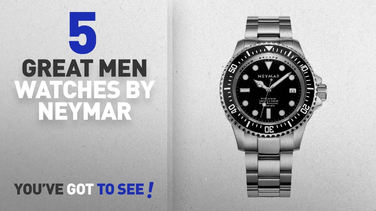 6321786a1 Top 10 Neymar Men Watches [ Winter 2018 ]: NEYMAR 44mm Automatic ...