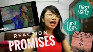 reaction: promises (Calvin Harris, Sam Smith) lyric video Video