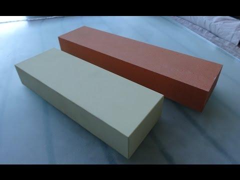 TYROLIT 89A FEIN & TYROLIT 89A SUPER sharpening stones used in progression