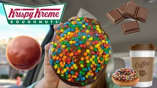mukbang eating donuts