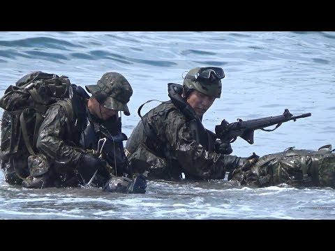 夜陰に乗じて上陸!水路潜入の研究! 陸上自衛隊 第1空挺団
