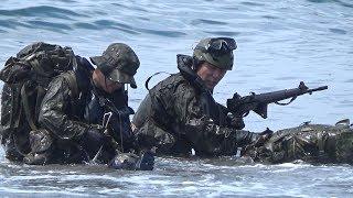 夜陰に乗じて上陸!水路潜入の研究! 陸上自衛隊 第1空挺団 thumbnail